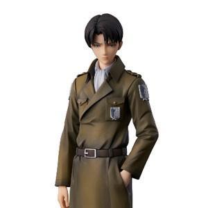 ユニオンクリエイティブ 進撃の巨人 リヴァイ coat styleフィギュア 返品種別B