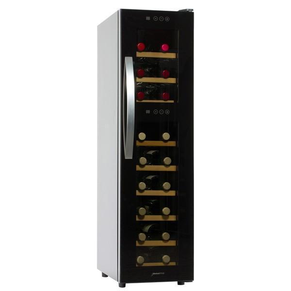 (標準設置 送料無料) デバイスタイル ワインセラー(18本収納) (右開き) deviceSTYLE WF-P18W 返品種別A