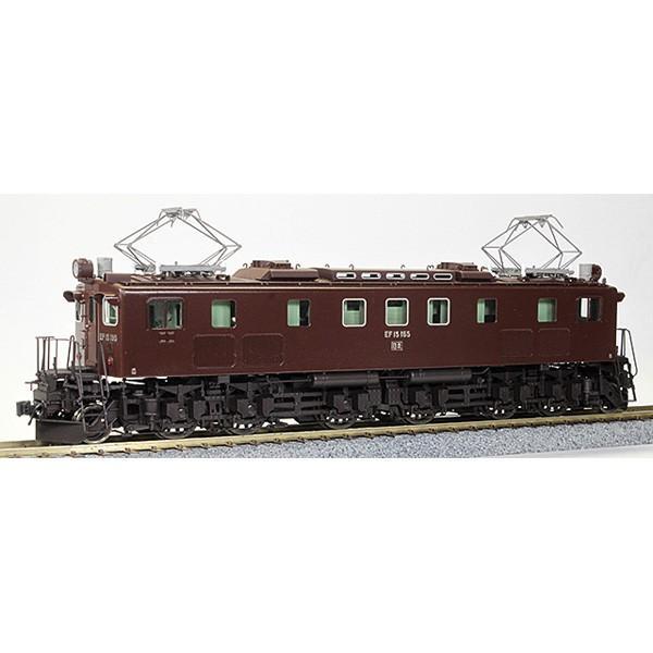ワールド工芸 (HO) 16番 国鉄 EF15形 電気機関車 最終型 上越タイプ 塗装済完成品(特別企画品) 返品種別B