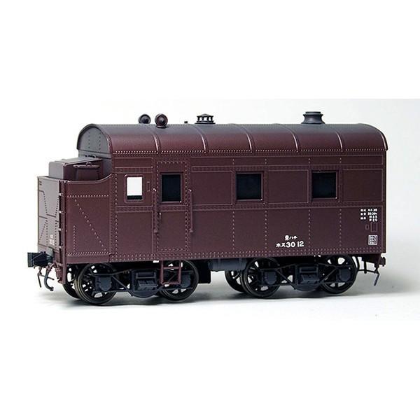 ワールド工芸 (HO) 16番 国鉄 ホヌ30形 暖房車 組立キット リニューアル品 返品種別B