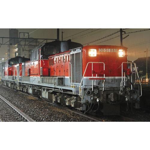 アオシマ 1/ 45 トレインミュージアムOJ No.3 ディーゼル機関車 DD51更新色 スーパーディティール(09987)プラモデル 返品種別B
