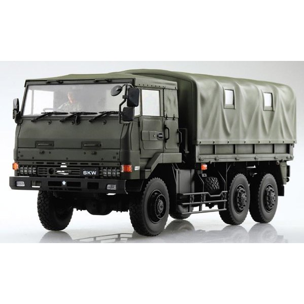 アオシマ 1 35 ミリタリーモデルキット No.1 3 返品種別B 2tトラック 58909 高価値 予約販売 SKW-477 プラモデル