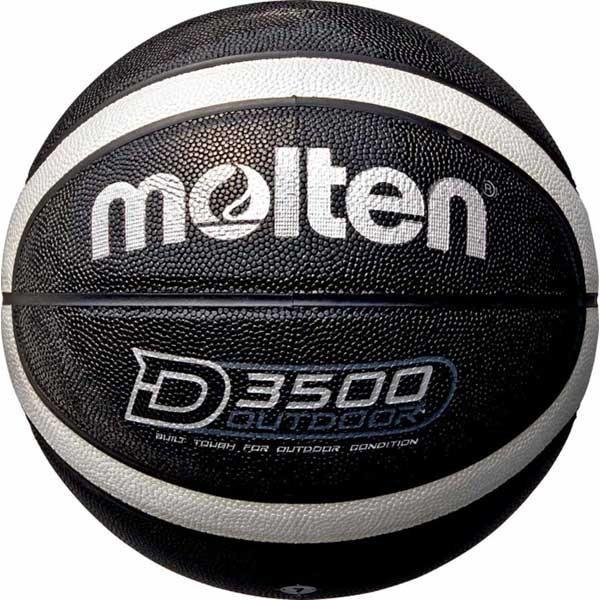 モルテン バスケットボール 送料無料新品 7号球 人工皮革 Molten ブラック×シルバー B7D3500-KS D3500 返品種別A 直営店