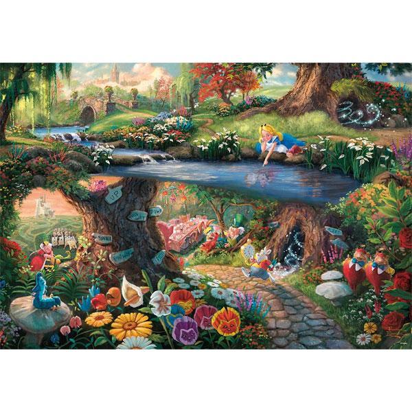 テンヨー トーマス キンケード キャンバススタイル Alice in Wonderland 1000ピース 《週末限定タイムセール》 返品種別B お買得