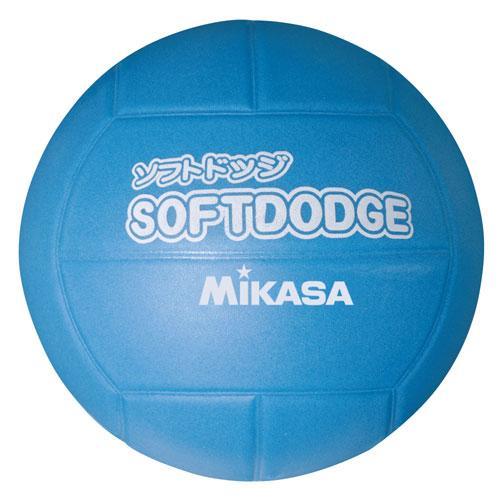ミカサ ソフトドッジボール ブルー LD-B 実物 返品種別A 倉庫 MIKASA