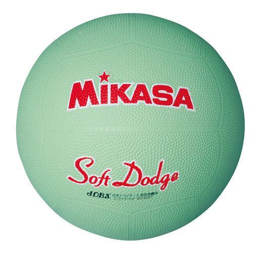 ミカサ 新入荷 流行 ソフトドッジボール 0号球 グリーン 商店 返品種別A D0-SOFT-G MIKASA