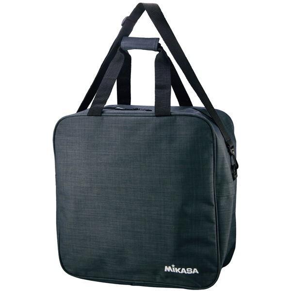 ミカサ ボールバッグ 4個用 ブラック MIKASA 爆買いセール AC-BGM40-BK バレーボール 返品種別A サッカーボールバッグ 訳あり商品
