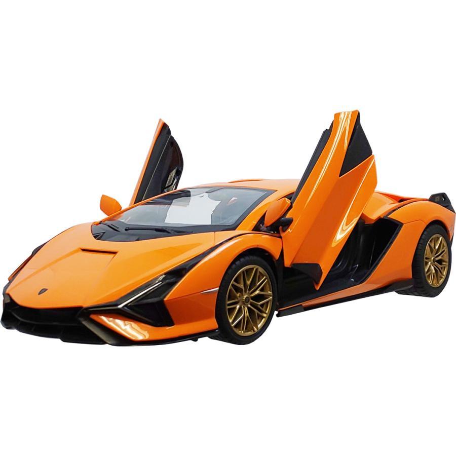 ハピネット 1 新作 14 R C ラジコン 再入荷/予約販売! シアン 返品種別B Sian Lamborghini
