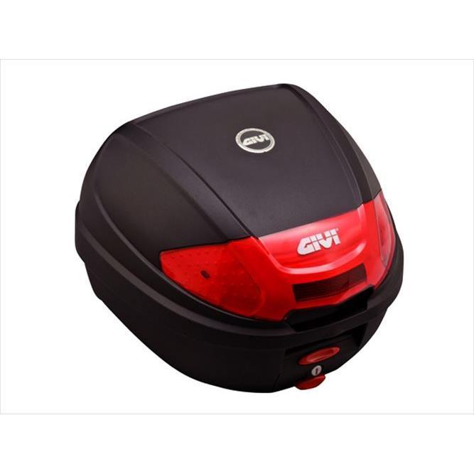 GIVI 100%品質保証! E300N2 新作送料無料 モノロックケース 未塗装ブラック type 返品種別A 76872 30L
