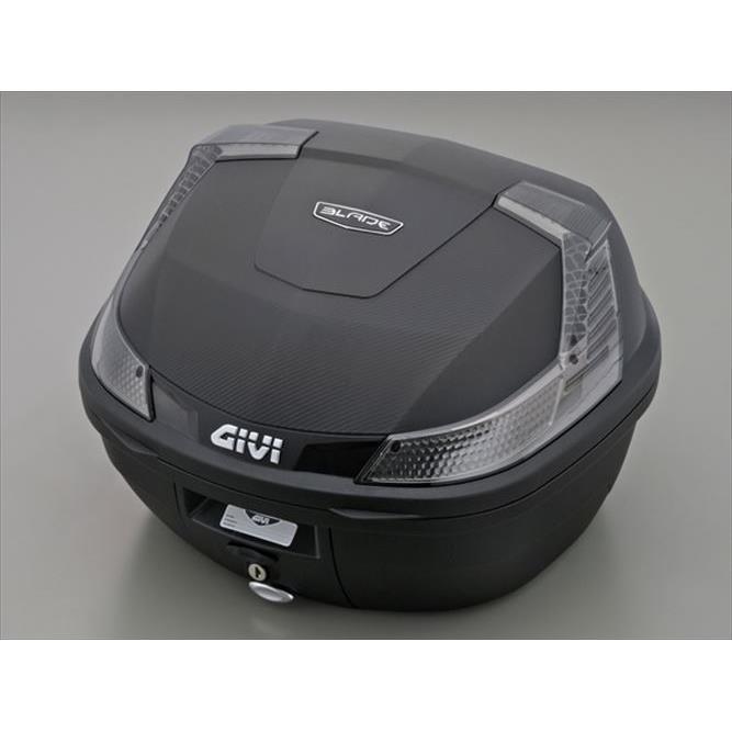 GIVI B37NT モノロックケース アウトレット☆送料無料 未塗装ブラック TECHスモークレンズ 本物 37L BLADE 78038 返品種別A type B37