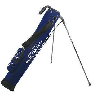 ブルーティーゴルフ 店内限界値引き中 セルフラッピング無料 高級な ストレッチセルフスタンドバッグ クラブケース ネイビー 5〜6本収納 BLUE TEE 返品種別A GOLF CC-001 CC-001-NV
