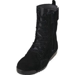 ノサックス 高所作業用安全靴 みやじま鳶 床革 25.5cm M207-T-255 返品種別A