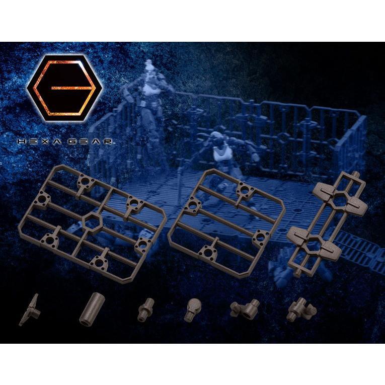 コトブキヤ 買い取り 1 24 5%OFF ヘキサギア ブロックベース07 返品種別B フェンスプレートオプション プラモデル HG093