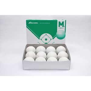 ナイガイ 軟式野球ボール M号球 一般用 中学生用 12個入 1ダース 133175 naigai 検定球 試合球 内外ゴム 開店祝い 軟球 返品種別A お買得