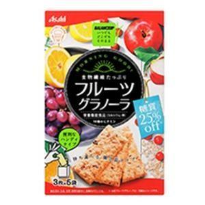 バランスアップ フルーツグラノーラ 定価 糖質25%オフ 日時指定 アサヒグループ食品 3枚×5袋 返品種別B