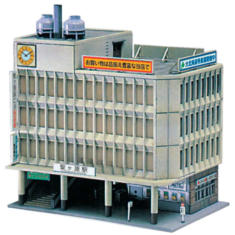 グリーンマックス 再生産 N お見舞い 2132 未塗装組立キット 期間限定の激安セール 返品種別B 中型駅