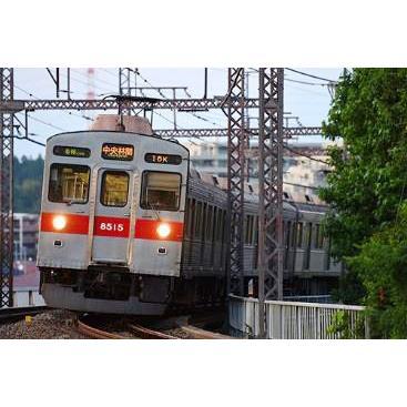 グリーンマックス N テレビで話題 買取 31507 東急電鉄8500系 8615編成 増結用中間車6両セット 動力無し 黄色テープ付き 返品種別B