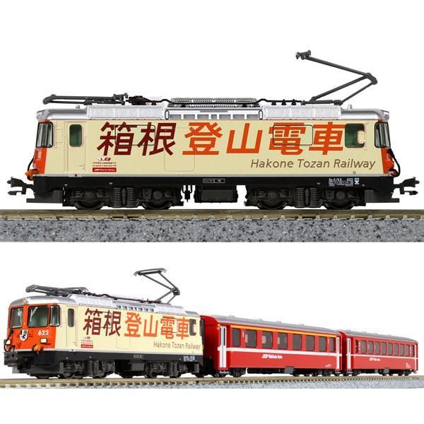 カトー (N) 10-1514 Ge4/ 4-II「箱根登山電車」+EW I客車 3両セット(特別企画品) 返品種別B