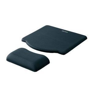 バッファロー 全国一律送料無料 GELマウスパッド ブラック BPD-G05 安心の定価販売 BKA 返品種別A