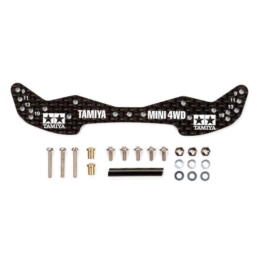 タミヤ GP.498 無料 HG カーボンフロントワイドステー 返品種別B 1.5mm 国際ブランド ミニ四駆パーツ 15498