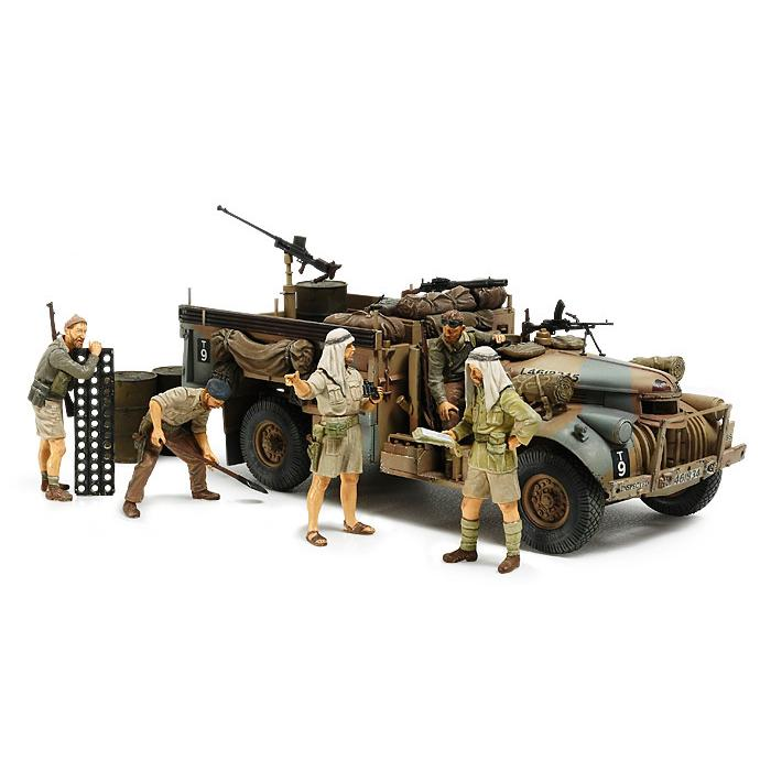 タミヤ 1 35 イギリス LRDG コマンドカー 32407 人形7体セット 買い物 北アフリカ戦線 ☆送料無料☆ 当日発送可能 プラモデル 返品種別B