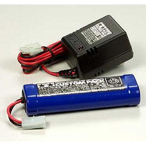 タミヤ ニカドバッテリー 与え 7.2V 保証 カスタムパックと充電器 ラジコン用 55087 返品種別B