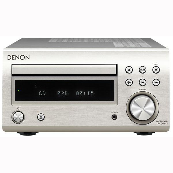 購入 デノン Bluetooth対応CDレシーバー プレミアムシルバー DENON 今だけ限定15%OFFクーポン発行中 返品種別A RCD-M41-SP