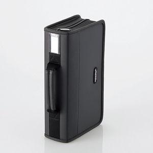 爆買い送料無料 エレコム CD 毎日激安特売で 営業中です DVDファスナーケース 96枚収納 返品種別A ブラック CCD-SS96BK