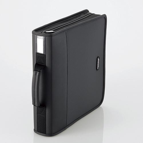 日本産 エレコム CD DVDファスナーケース ついに再販開始 160枚収納 ブラック CCD-SS160BK 返品種別A