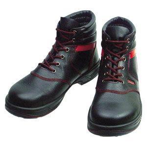 シモン 安全靴 編上靴 黒/ 赤 26.0cm SL22R26.0 返品種別A Joshin web - 通販 - PayPayモール