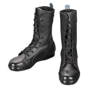 シモン 安全靴高所作業用 長編上靴 都纏 23.5cm 303323.5 返品種別A