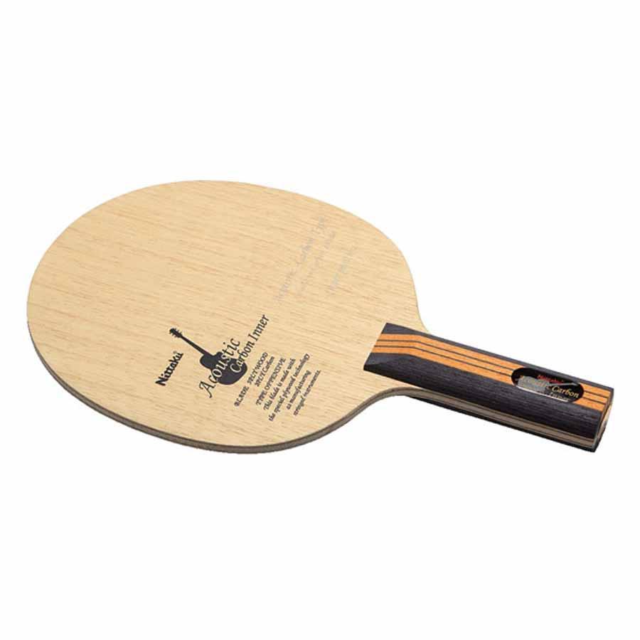 ニッタク 卓球 シェークラケット Nittaku アコースティック カーボンインナー ST NT-NC0402 返品種別A