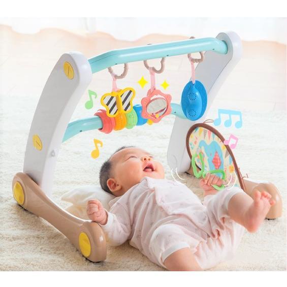 ピープル 爆安プライス うちの赤ちゃん世界一 スマート知育ジム 新色 返品種別B ウォーカー