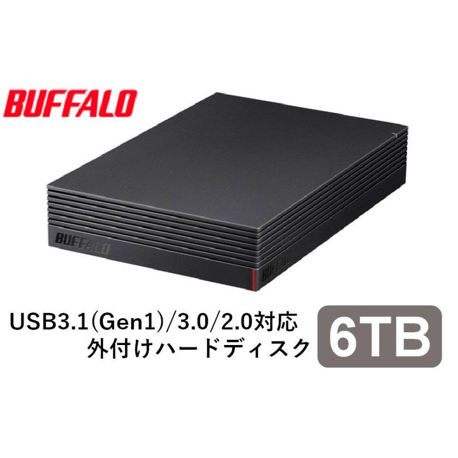 バッファロー パソコン 保障 テレビ録画用外付けハードディスク ショップ 6.0TB HD-EDS6.0U3-BA 返品種別A