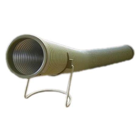 バクマ工業 温風ヒーター用省エネダクト 80〜320cm 値下げ 出色 暖房器具 返品種別A SD-890 ファンヒーター用