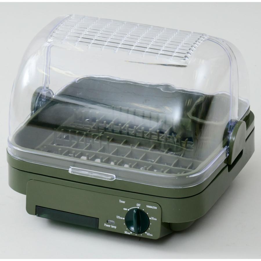 山善 食器乾燥器 グリーン ジョーシンオリジナル商品 お得なキャンペーンを実施中 5%OFF 返品種別A YDA-500-JG YAMAZEN