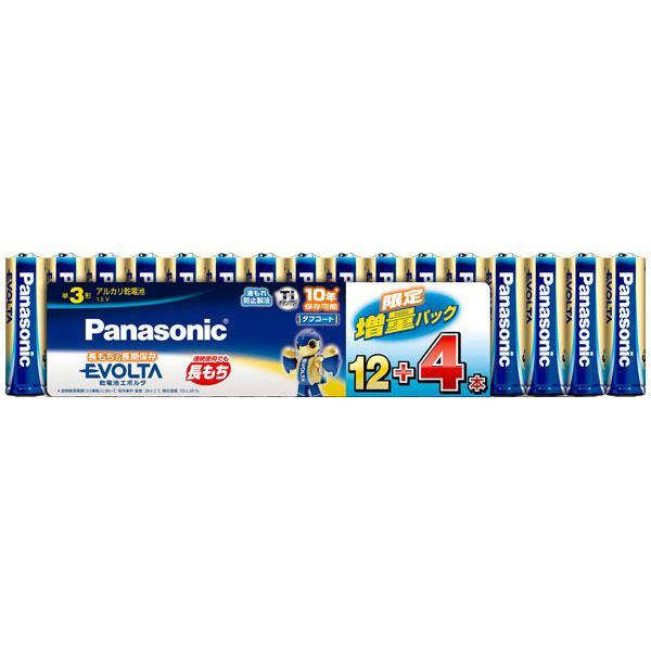 内祝い パナソニック アルカリ乾電池単3形 16本パック Panasonic EVOLTA 16S LR6EJSP 返品種別A 商店