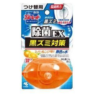 液体ブルーレットおくだけ除菌EX 引き出物 特価キャンペーン スーパーオレンジの香り つけかえ用 70ml 小林製薬 水洗トイレ用芳香剤 返品種別A