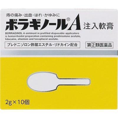 第 2 類医薬品 アリナミン製薬 2g×10個 販売実績No.1 ボラギノールA注入軟膏 期間限定送料無料 返品種別B