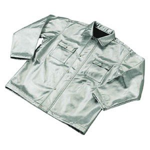 トラスコ中山 スーパープラチナ遮熱作業服 上着 XLサイズ TSP1XL 返品種別B