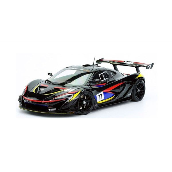 ALMOST REAL 1/ 18 マクラーレン P1 GTR ジェームス・ハント エディション(ブラック)(AL840108)ミニカー 返品種別B