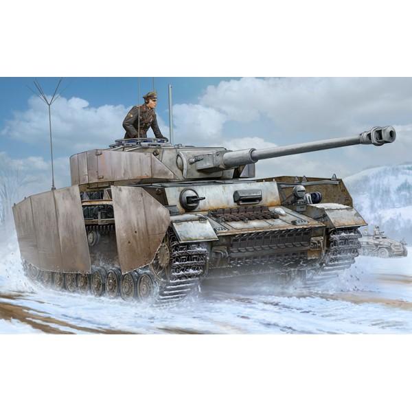 トランペッター 1/ 16 ドイツ軍 IV号戦車J型 Pz.Beob.wg.砲兵観測車 (00922)プラモデル 返品種別B