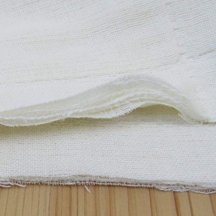 日本製 無添加6重カーゼ  パサージュ 生地カット販売 140cm巾で単位は40cm 高級 日本製 マスク 無地 ガーゼマスク ガーゼ生地 マスク作る布 国産 joyfull 04