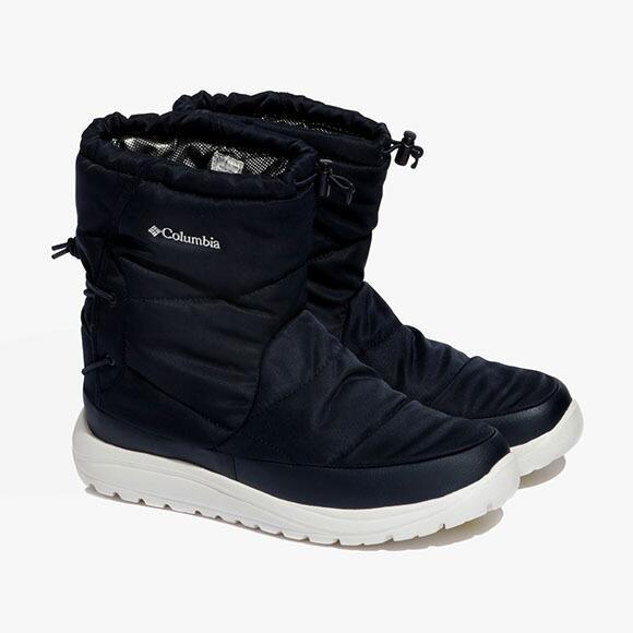 [クーポンでさらにお得]コロンビア ウインターブーツ スノーブーツ 保温 防水 ブーツ スピンリールブーツウォータープルーフオムニヒート YU0276 / 464
