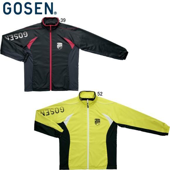 [クーポンでお得](テニス)ゴーセン(GOSEN) UY1406 ウィンドウォーマージャケット UY1406 (取寄)