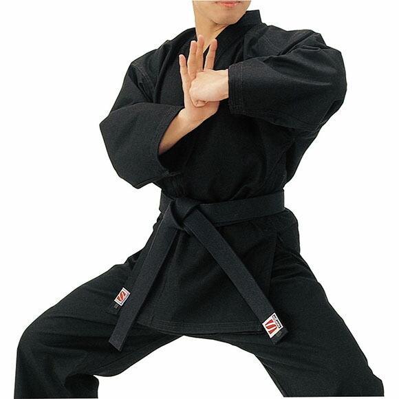 [クーポンでお得]KUSAKURA(クザクラ) 黒 11 号空手着 2 号上衣 R3NC2 (取寄)