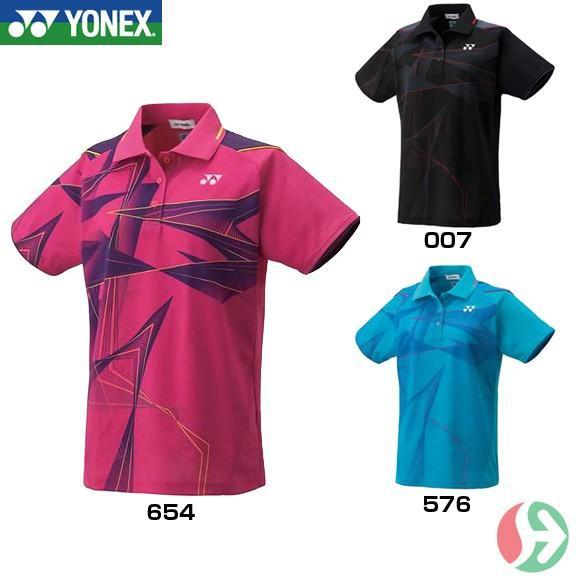 [クーポンでお得]テニス バドミントン ウェア ヨネックス(YONEX) ウィメンズゲームシャツ 20444 取寄