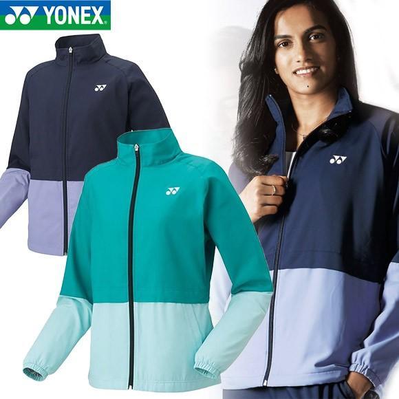 [クーポンでお得][在庫処分市!]テニス ウェア メンズ レディース ヨネックス(YONEX) 裏地付 ウインドウォーマー シャツ 78048