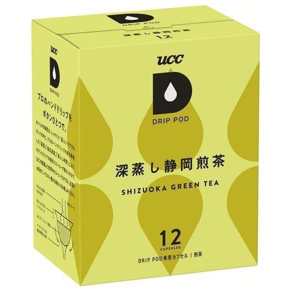 ドリップポッド 専用カプセル 深蒸し静岡煎茶 12杯分 UCC (D)(B)|joylight