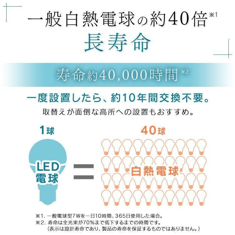 電球 LED 種類 口金 E17 40W 4個セット アイリスオーヤマ 小型電球 40形 昼光色 昼白色 電球色 LDA4D-G-E17-4T62P LDA4N-G-E17-4T62P LDA4L-G-E17-4T62P|joylight|09